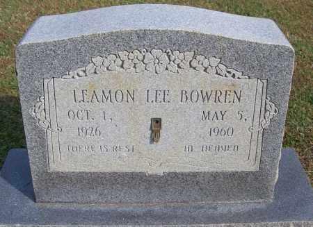 BOWREN, LAEMON LEE - White County, Arkansas | LAEMON LEE BOWREN - Arkansas Gravestone Photos
