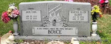 BOYCE, JACK CARL - White County, Arkansas   JACK CARL BOYCE - Arkansas Gravestone Photos