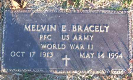 BRACELY (VETERAN WWII), MELVIN E - White County, Arkansas   MELVIN E BRACELY (VETERAN WWII) - Arkansas Gravestone Photos