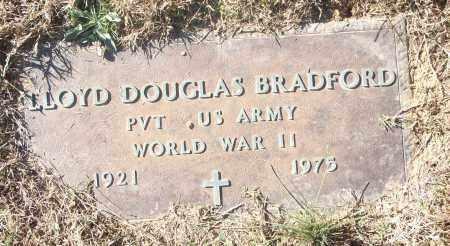BRADFORD (VETERAN WWII), LLOYD DOUGLAS - White County, Arkansas | LLOYD DOUGLAS BRADFORD (VETERAN WWII) - Arkansas Gravestone Photos