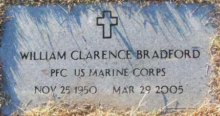 BRADFORD (VETERAN), WILLIAM CLARENCE - White County, Arkansas | WILLIAM CLARENCE BRADFORD (VETERAN) - Arkansas Gravestone Photos