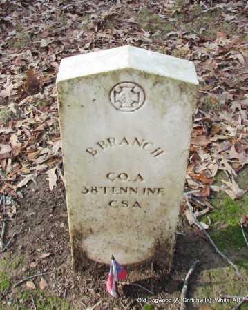 BRANCH (VETERAN CSA), B - White County, Arkansas | B BRANCH (VETERAN CSA) - Arkansas Gravestone Photos