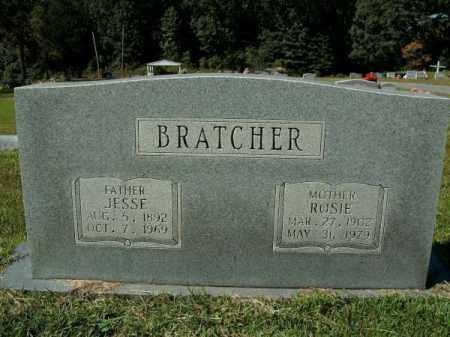 BRATCHER, JESSE - White County, Arkansas | JESSE BRATCHER - Arkansas Gravestone Photos