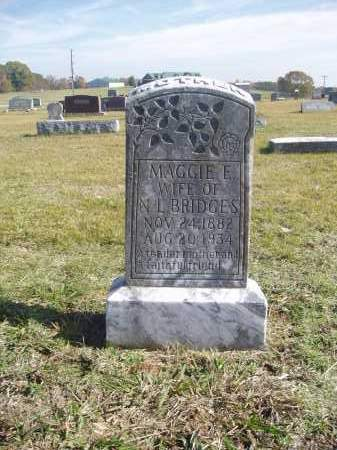 BRIDGES, MAGGIE - White County, Arkansas | MAGGIE BRIDGES - Arkansas Gravestone Photos