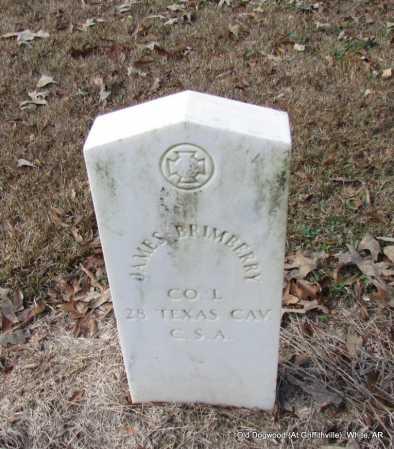 BRIMBERRY (VETERAN CSA), JAMES - White County, Arkansas | JAMES BRIMBERRY (VETERAN CSA) - Arkansas Gravestone Photos