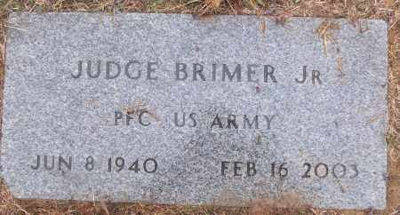 BRIMER,  JR (VETERAN), JUDGE - White County, Arkansas   JUDGE BRIMER,  JR (VETERAN) - Arkansas Gravestone Photos