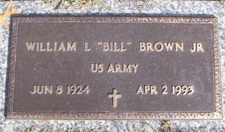 "BROWN, JR (VETERAN), WILLIAM L ""BILL"" - White County, Arkansas 