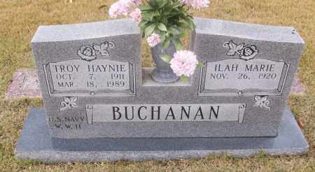 BUCHANAN  (VETERAN WWII), TROY HAYNIE - White County, Arkansas   TROY HAYNIE BUCHANAN  (VETERAN WWII) - Arkansas Gravestone Photos