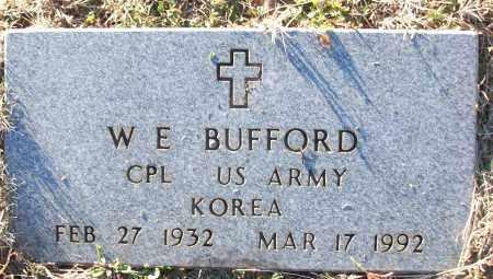 BUFFORD (VETERAN KOR), W E - White County, Arkansas | W E BUFFORD (VETERAN KOR) - Arkansas Gravestone Photos