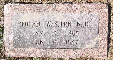 BUICE, BEULAH WESTERN - White County, Arkansas | BEULAH WESTERN BUICE - Arkansas Gravestone Photos