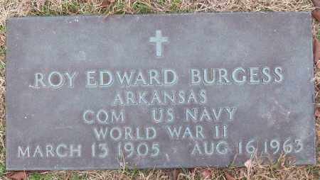 BURGESS (VETERAN WWII), ROY EDWARD - White County, Arkansas | ROY EDWARD BURGESS (VETERAN WWII) - Arkansas Gravestone Photos