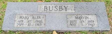 BUSBY, MARY ALTA - White County, Arkansas | MARY ALTA BUSBY - Arkansas Gravestone Photos