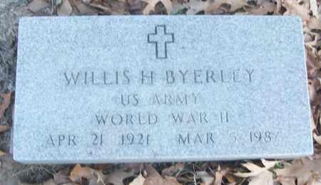 BYERLEY (VETERAN WWII), WILLIS H - White County, Arkansas   WILLIS H BYERLEY (VETERAN WWII) - Arkansas Gravestone Photos