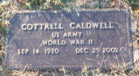 CALDWELL (VETERAN WWII), COTTRELL - White County, Arkansas | COTTRELL CALDWELL (VETERAN WWII) - Arkansas Gravestone Photos