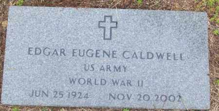 CALDWELL (VETERAN WWII), EDGAR EUGENE - White County, Arkansas   EDGAR EUGENE CALDWELL (VETERAN WWII) - Arkansas Gravestone Photos