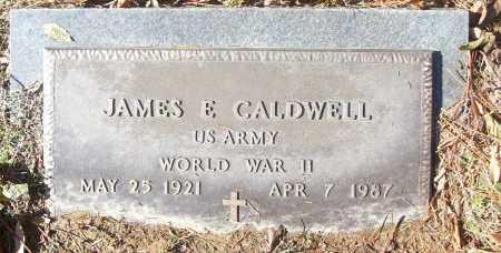 CALDWELL (VETERAN WWII), JAMES E - White County, Arkansas   JAMES E CALDWELL (VETERAN WWII) - Arkansas Gravestone Photos