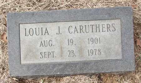CARUTHERS, LOUIA J. - White County, Arkansas   LOUIA J. CARUTHERS - Arkansas Gravestone Photos