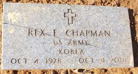 CHAPMAN (VETERAN KOR), REX E - White County, Arkansas   REX E CHAPMAN (VETERAN KOR) - Arkansas Gravestone Photos