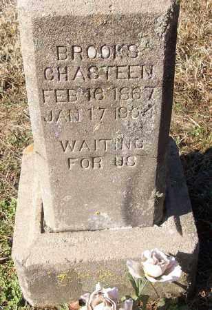 CHASTEEN, BROOKS - White County, Arkansas   BROOKS CHASTEEN - Arkansas Gravestone Photos