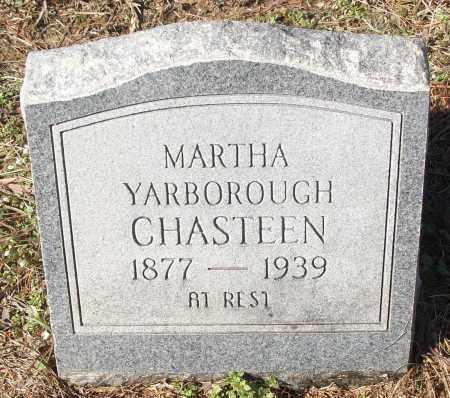 YARBOROUGH CHASTEEN, MARTHA - White County, Arkansas | MARTHA YARBOROUGH CHASTEEN - Arkansas Gravestone Photos
