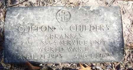CHILDERS (VETERAN WWII), CLIFTON S - White County, Arkansas   CLIFTON S CHILDERS (VETERAN WWII) - Arkansas Gravestone Photos