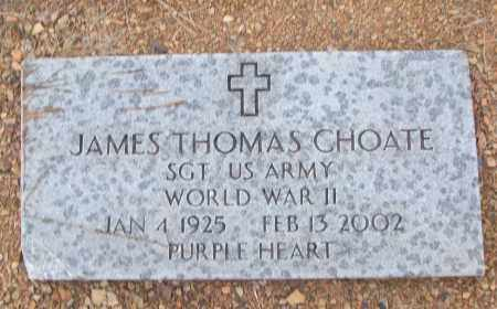 CHOATE (VETERAN WWII), JAMES THOMAS - White County, Arkansas | JAMES THOMAS CHOATE (VETERAN WWII) - Arkansas Gravestone Photos