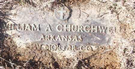 CHURCHWELL (VETERAN), WILLIAM A - White County, Arkansas | WILLIAM A CHURCHWELL (VETERAN) - Arkansas Gravestone Photos