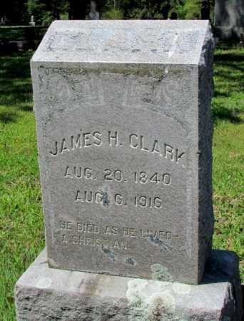 CLARK, JAMES H - White County, Arkansas   JAMES H CLARK - Arkansas Gravestone Photos