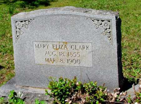 CLARK, MARY ELIZA - White County, Arkansas | MARY ELIZA CLARK - Arkansas Gravestone Photos
