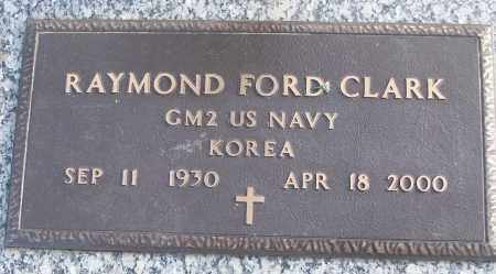 CLARK (VETERAN KOR), RAYMOND FORD - White County, Arkansas | RAYMOND FORD CLARK (VETERAN KOR) - Arkansas Gravestone Photos