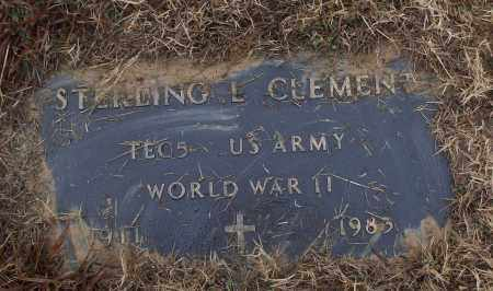 CLEMENT (VETERAN WWII), STERLING L - White County, Arkansas   STERLING L CLEMENT (VETERAN WWII) - Arkansas Gravestone Photos