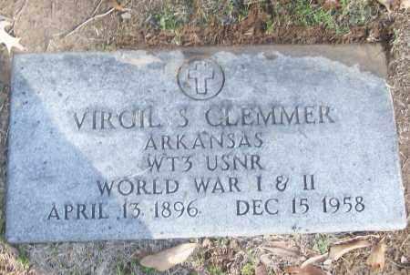 CLEMMER (VETERAN 2 WARS), VIRGIL S - White County, Arkansas | VIRGIL S CLEMMER (VETERAN 2 WARS) - Arkansas Gravestone Photos