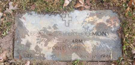 CLEMONS  (VETERAN WWII), TEEMUS PRESTON - White County, Arkansas | TEEMUS PRESTON CLEMONS  (VETERAN WWII) - Arkansas Gravestone Photos