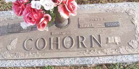COHORN (VETERAN WWII), JAMES H - White County, Arkansas   JAMES H COHORN (VETERAN WWII) - Arkansas Gravestone Photos