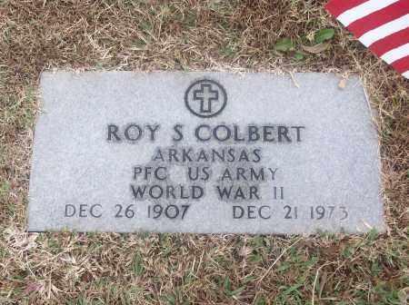 COLBERT  (VETERAN WWII), ROY S - White County, Arkansas | ROY S COLBERT  (VETERAN WWII) - Arkansas Gravestone Photos