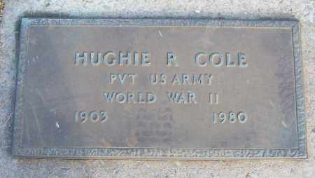 COLE (VETERAN WWII), HUGHIE R - White County, Arkansas | HUGHIE R COLE (VETERAN WWII) - Arkansas Gravestone Photos
