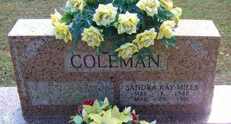COLEMAN, SANDRA KAY - White County, Arkansas | SANDRA KAY COLEMAN - Arkansas Gravestone Photos