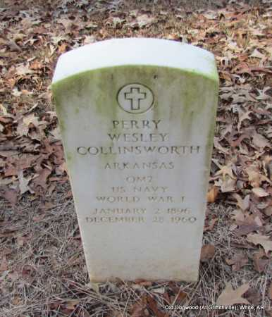 COLLINSWORTH (VETERAN WWI), PERRY WESLEY - White County, Arkansas | PERRY WESLEY COLLINSWORTH (VETERAN WWI) - Arkansas Gravestone Photos
