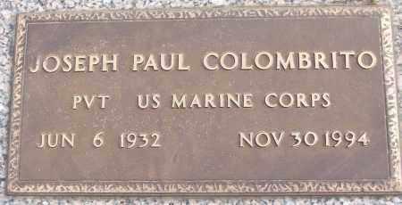 COLOMBRITO (VETERAN), JOSEPH PAUL - White County, Arkansas | JOSEPH PAUL COLOMBRITO (VETERAN) - Arkansas Gravestone Photos
