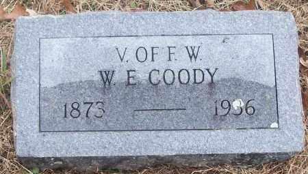 COODY  (VETERAN), W. E - White County, Arkansas | W. E COODY  (VETERAN) - Arkansas Gravestone Photos