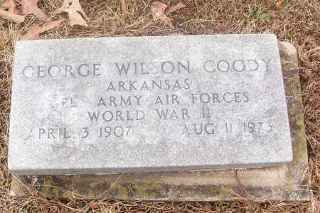 COODY  (VETERAN WWII), GEORGE WILSON - White County, Arkansas | GEORGE WILSON COODY  (VETERAN WWII) - Arkansas Gravestone Photos
