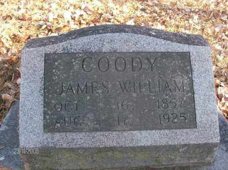 COODY, JAMES WILLIAM - White County, Arkansas | JAMES WILLIAM COODY - Arkansas Gravestone Photos