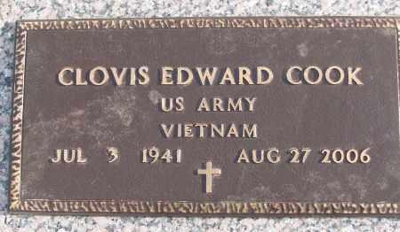 COOK (VETERAN VIET), CLOVIS EDWARD - White County, Arkansas   CLOVIS EDWARD COOK (VETERAN VIET) - Arkansas Gravestone Photos