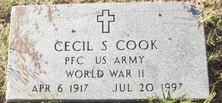 COOK (VETERAN WWII), CECIL S - White County, Arkansas | CECIL S COOK (VETERAN WWII) - Arkansas Gravestone Photos