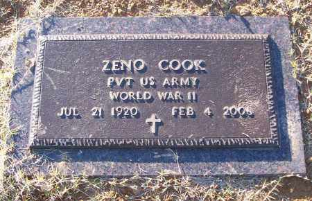 COOK (VETERAN WWII), ZENO - White County, Arkansas | ZENO COOK (VETERAN WWII) - Arkansas Gravestone Photos