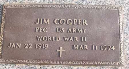 COOPER (VETERAN WWII), JIM - White County, Arkansas | JIM COOPER (VETERAN WWII) - Arkansas Gravestone Photos