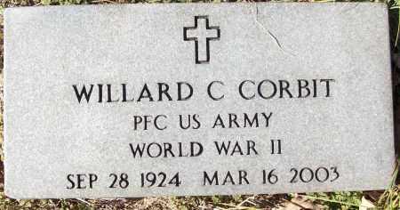 CORBIT (VETERAN WWII), WILLARD C - White County, Arkansas | WILLARD C CORBIT (VETERAN WWII) - Arkansas Gravestone Photos