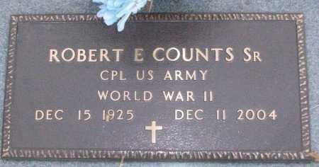 COUNTS, SR (VETERAN WWII), ROBERT E - White County, Arkansas | ROBERT E COUNTS, SR (VETERAN WWII) - Arkansas Gravestone Photos