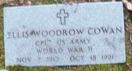 COWAN  (VETERAN WWII), ELLIS WOODROW - White County, Arkansas | ELLIS WOODROW COWAN  (VETERAN WWII) - Arkansas Gravestone Photos