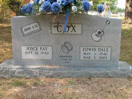 COX, EDWIN DALE - White County, Arkansas | EDWIN DALE COX - Arkansas Gravestone Photos